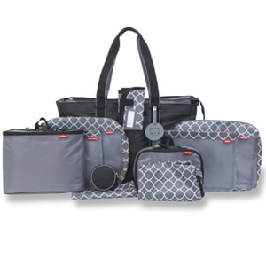 babyboom 12 piece travel and diaper set