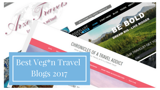 best vegan travel blogs