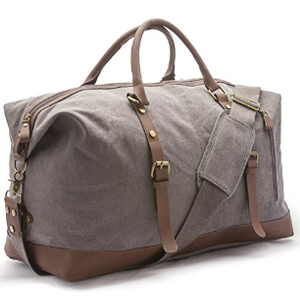 sweetbriar vintage duffle bag