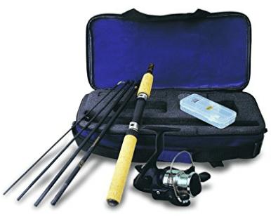 Okuma VS-605-20 Voyager Spinning Travel Kit