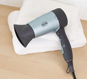 Brookstone Ionic Dual-Voltage Travel Hair Dryer