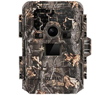 TEC.BEAN 12MP 1080P HD Game & Trail Hunting Camera No Glow Infrared Scouting