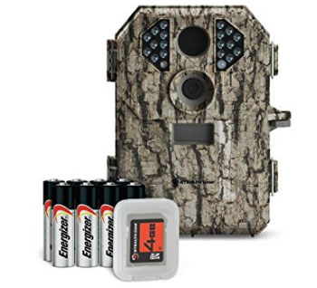 Stealth Cam P18 7 Megapixel Compact Scouting Camera with Batteries and SD Card