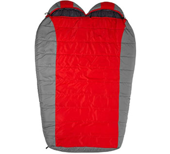 teton sports track 5f+ double wide sleeping bag