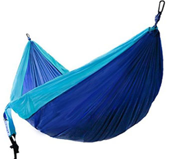 winner outfitters double parachute camping hammock