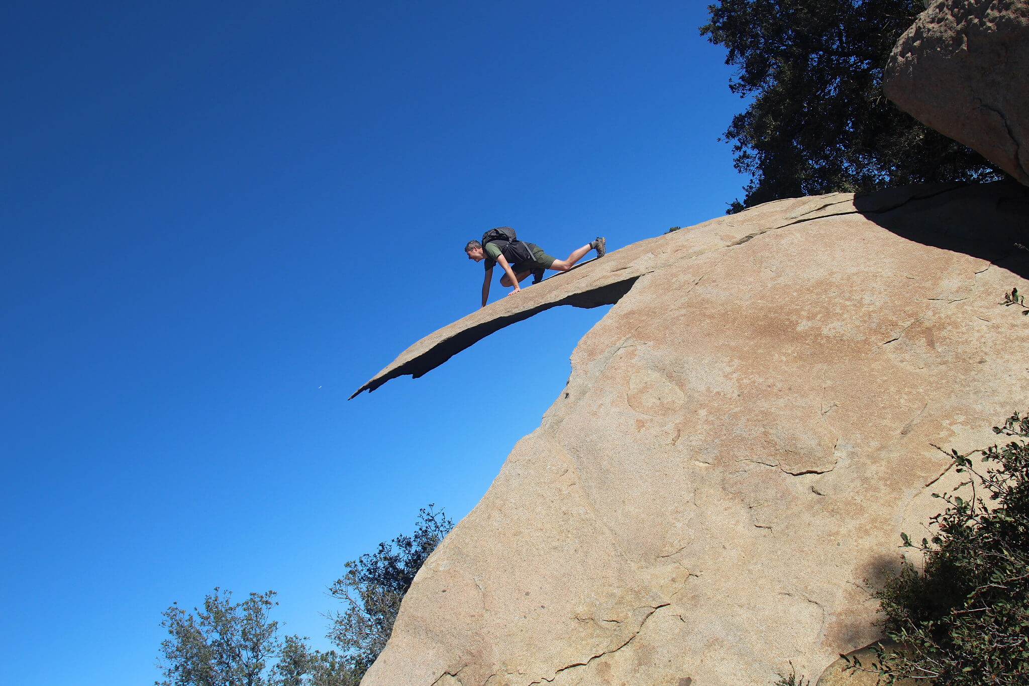 potato chip rock mount woodson