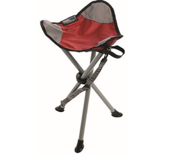 travel chair tripod camping stool