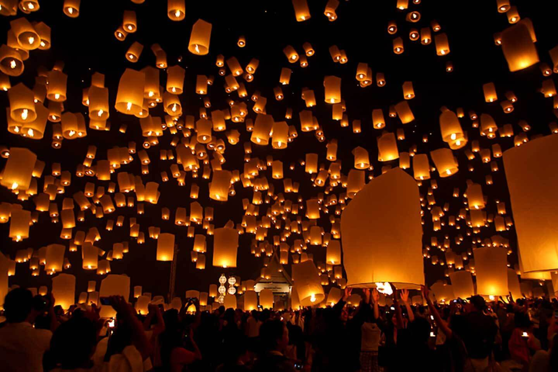 Taiwan Lantern festival, Taiwan