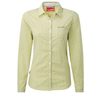 craghoppers nosilife olivie shirt