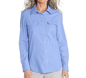 coolibar womens travel shirt