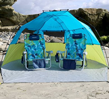 Lightspeed Quick Cabana Beach Tent & Best Beach Tents 2017 (Top 5 Picks)
