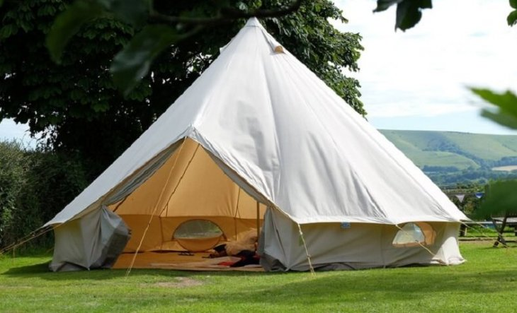 bell tent for glamping
