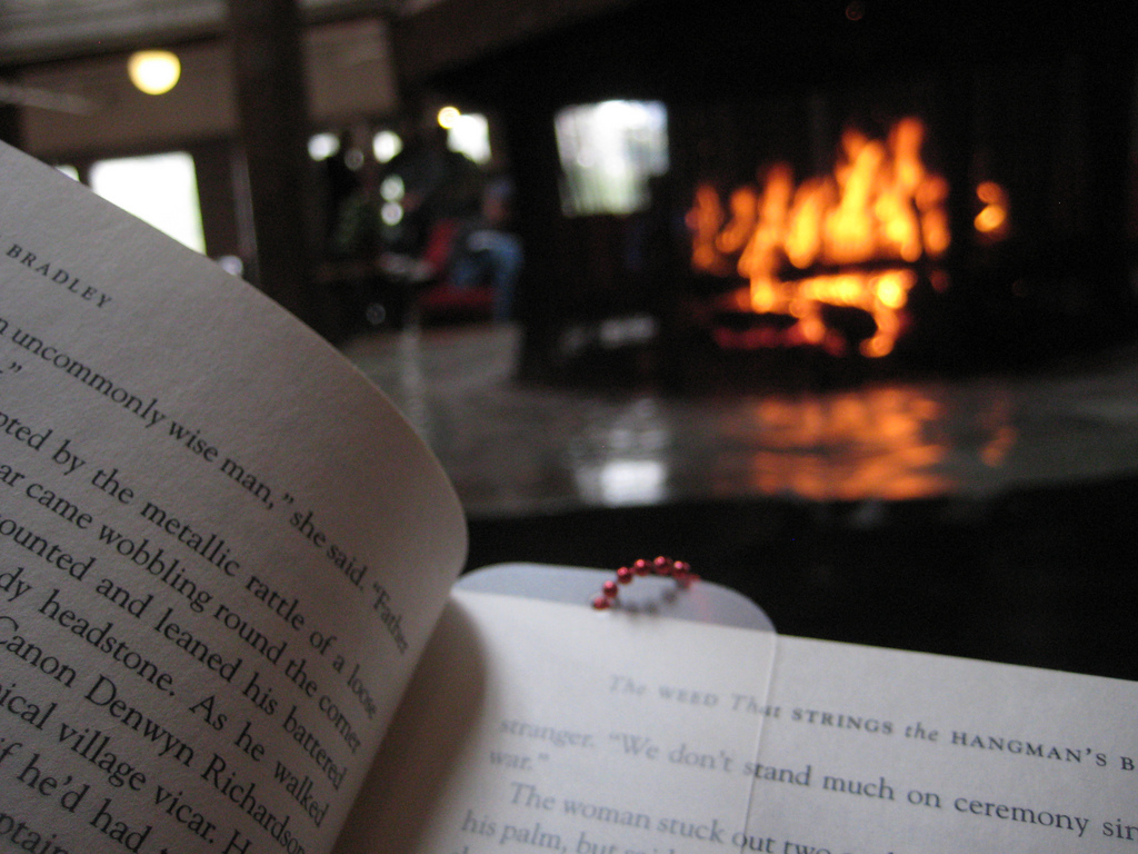 Reading by fire 9dea6fba