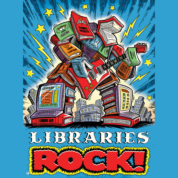 Srp libraries rock bookman 2x2 cc968257