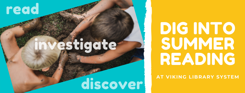 Dig into summer reading banner 56c7038
