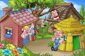 3 pigs background 11801f83