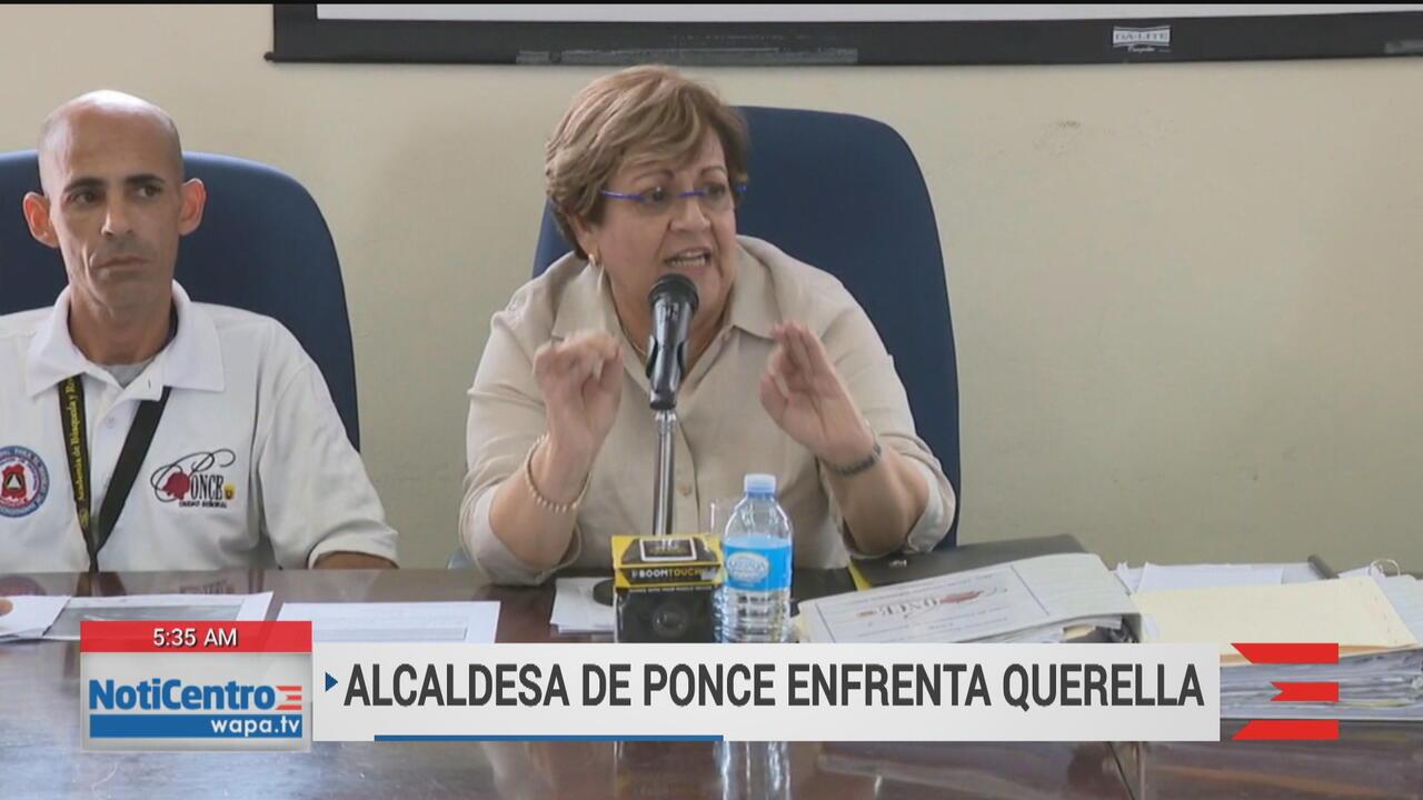 Alcaldesa de Ponce asegura que no ha violado la ley