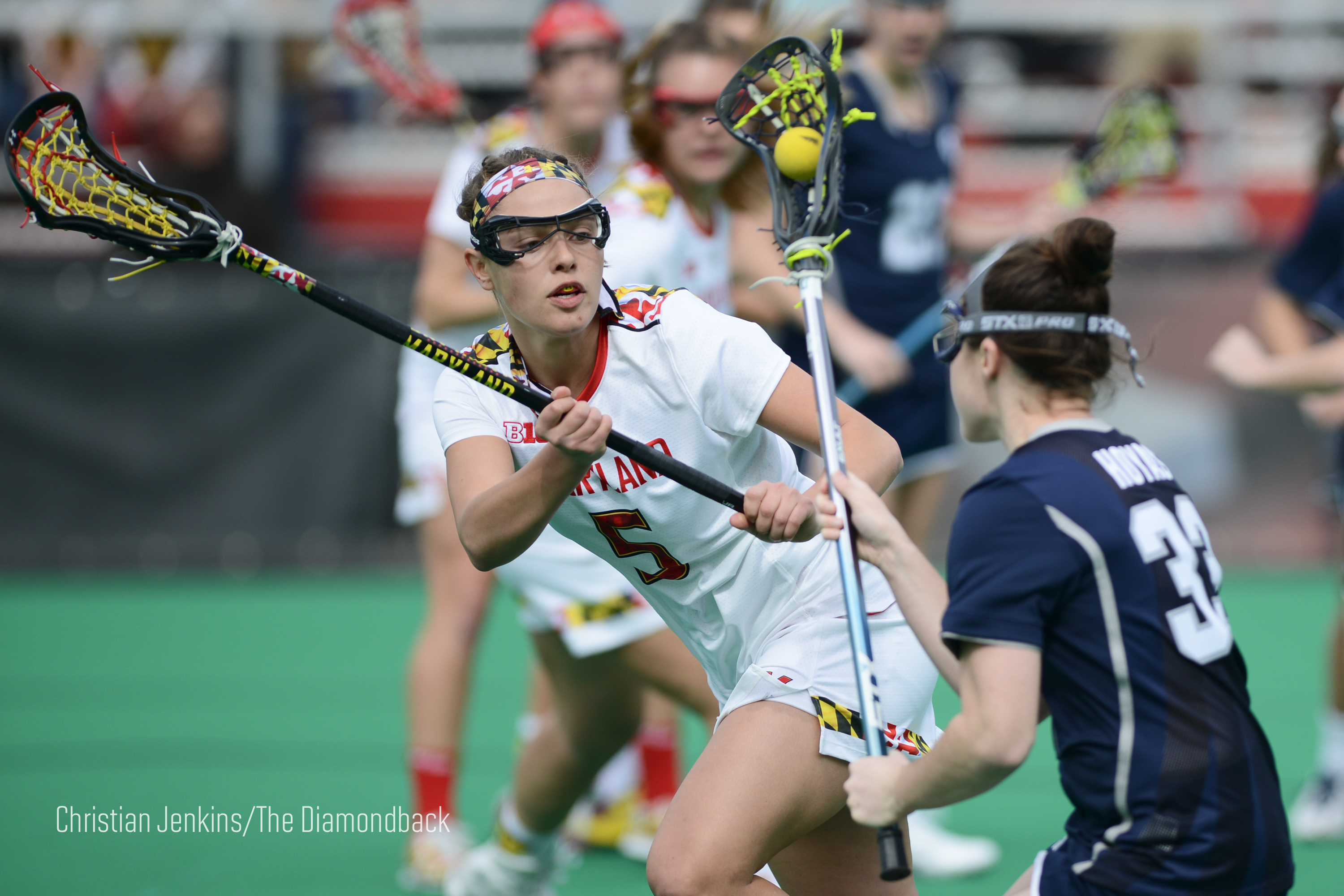 Maryland women's lacrosse hopes to ride team effort to win ...