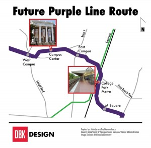 Future Purple Line Route