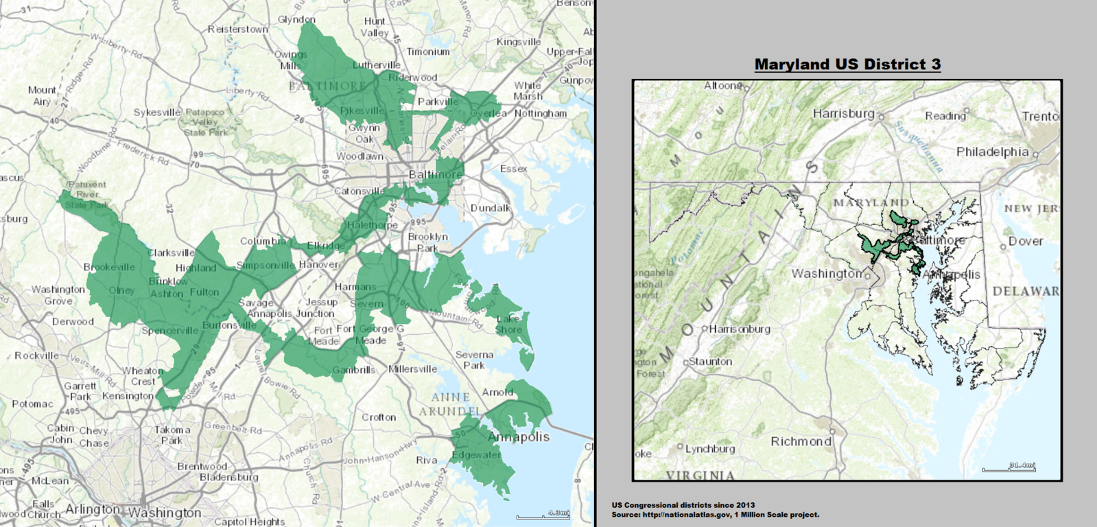 Maryland Democrats Gerrymandering Embarrassment  The