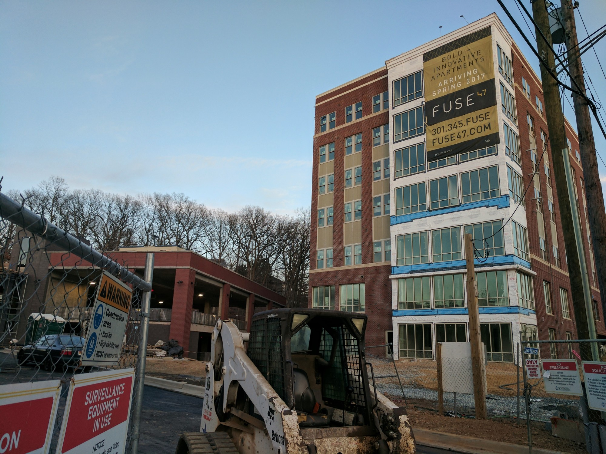 college park's newest apartment building is scheduled to open in