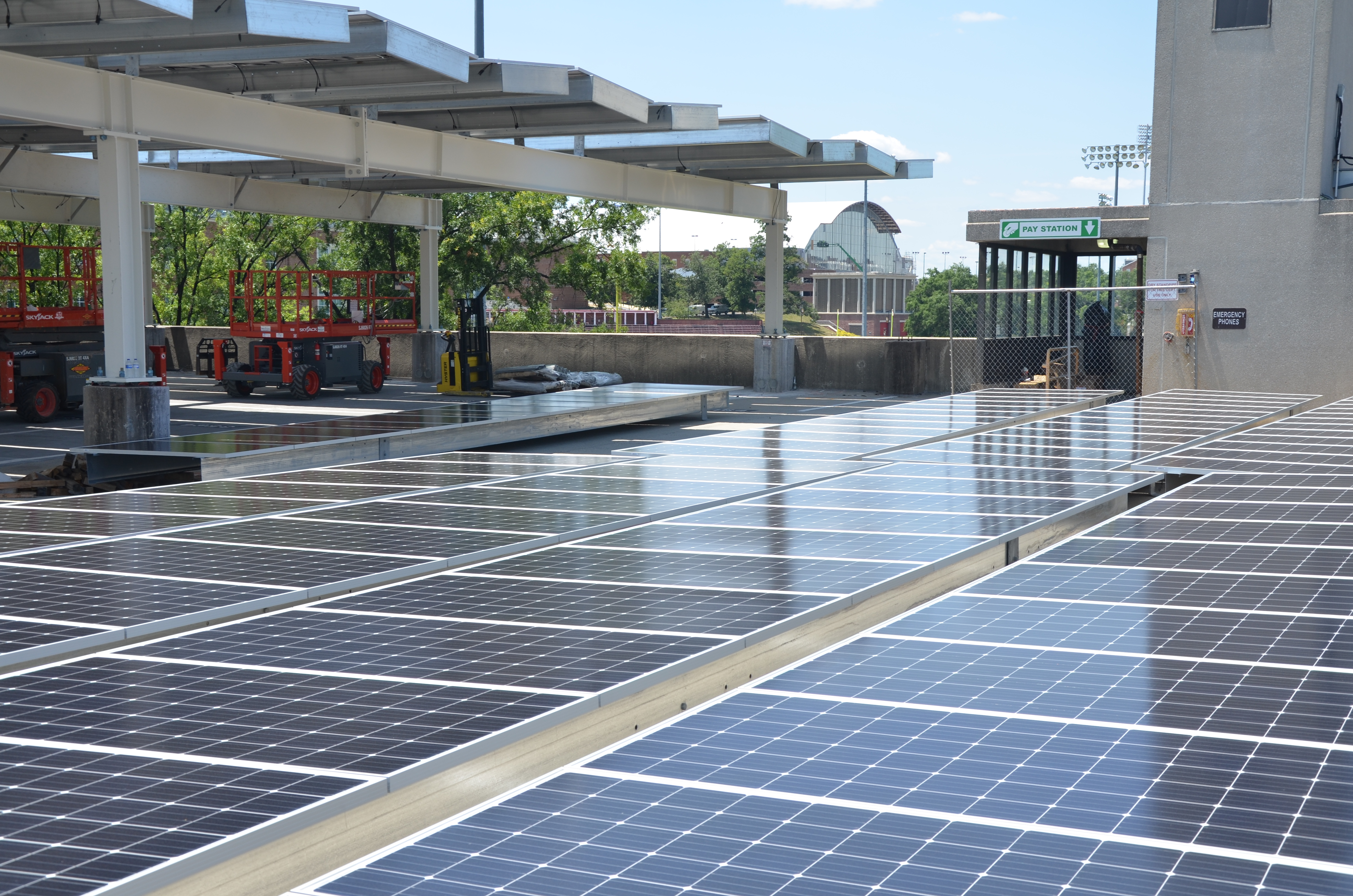 Three New Solar Canopies Are Helping Umd Exceed Its
