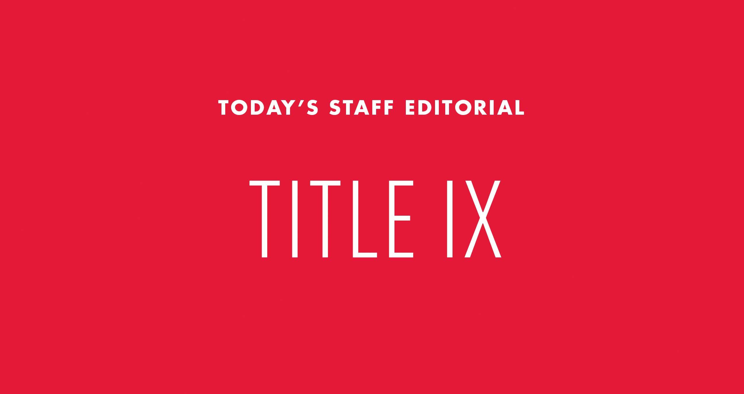 title ix amendment essay