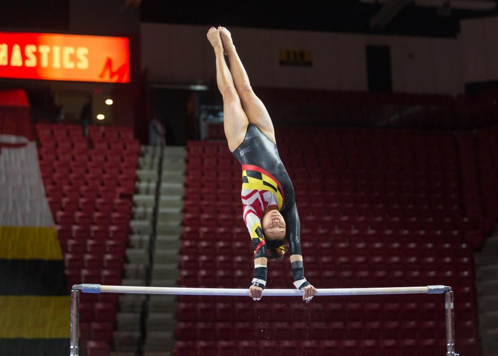 umd gymnastics meet