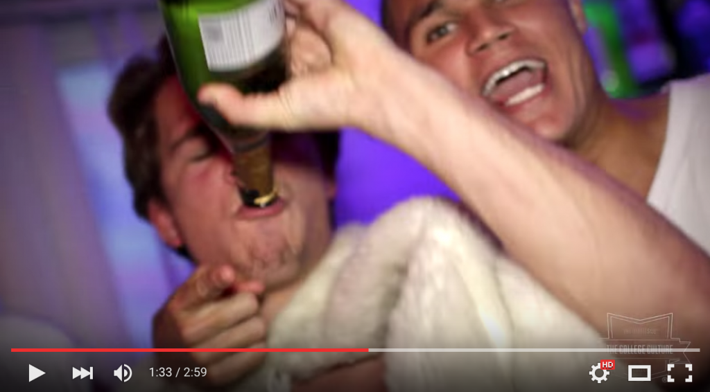 "Still from ""USC Frat Party (Fall 2014) Official,"" removed from YouTube on Sunday, October 25."