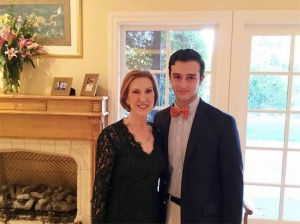 """Jacob currently serves as the California State Director of the organization, """"Students for Carly."""""""