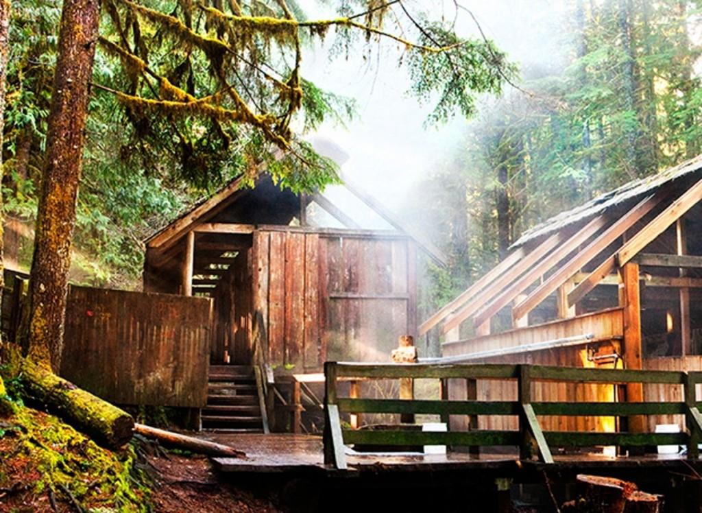 Bagby Hot Springs / By IndigoFairyx