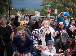 Portland Zombie Walk, photo from Dan Porter