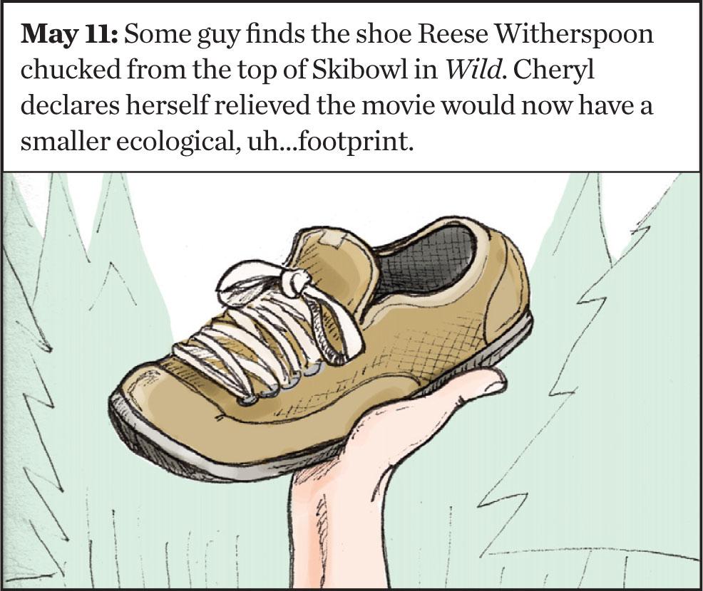 Wild shoe