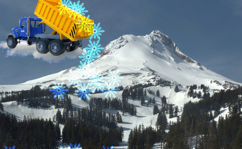 It Might Snow on Mount Hood This Weekend