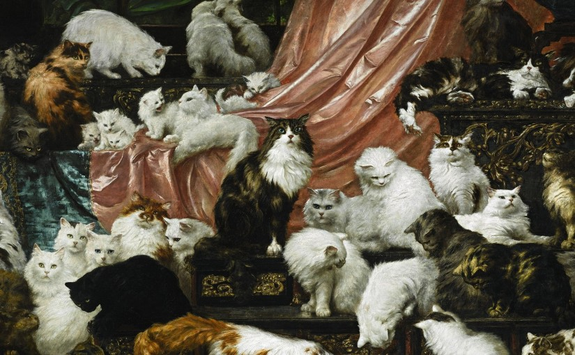You'll Have to Wait a Little Longer to See the Greatest Cat Painting Ever in Portland