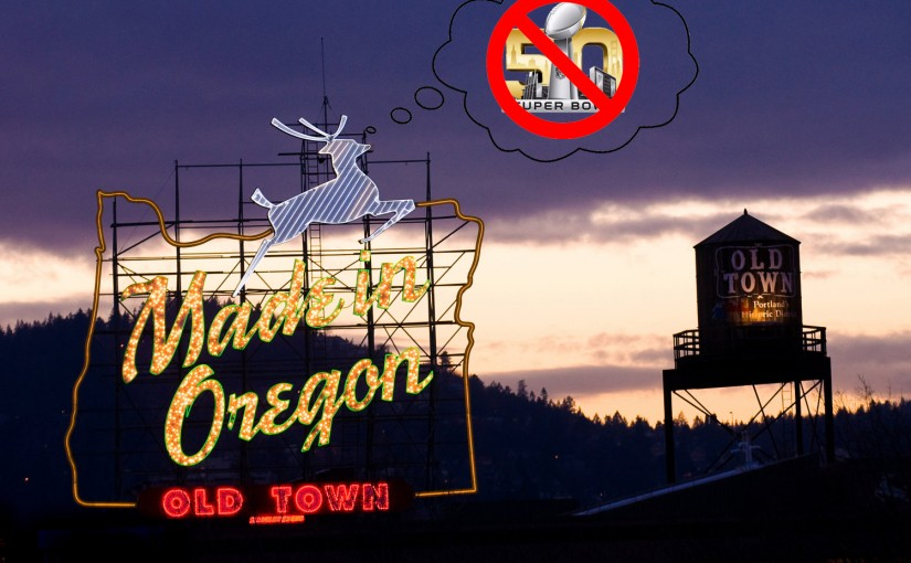 Dear People of San Francisco: We Invite You to Take Refuge in Portland for Super Bowl 50
