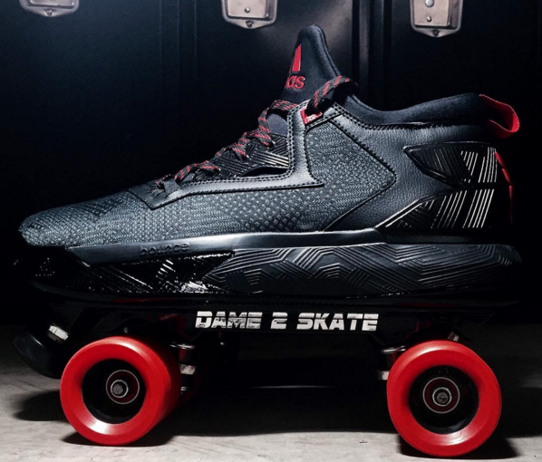There's a Roller Skate Edition of Damian Lillard's Signature Adidas Shoe