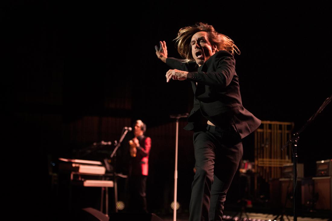 Iggy Pop at Keller Auditorium on March 29. IMAGE: Colin McLaughlin.