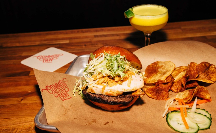 Common Law's Burger and Cocktails Rule at Pine Street Market