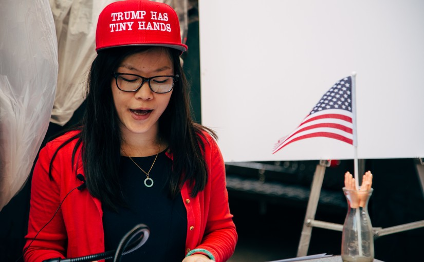 Meet Portland's Best Political Pranksters: Americans Against Insecure Billionaires With Tiny Hands PAC