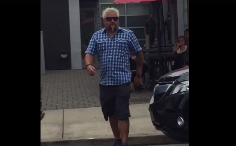 Where Guy Fieri Just Ate in Portland, According to Random People on the Internet