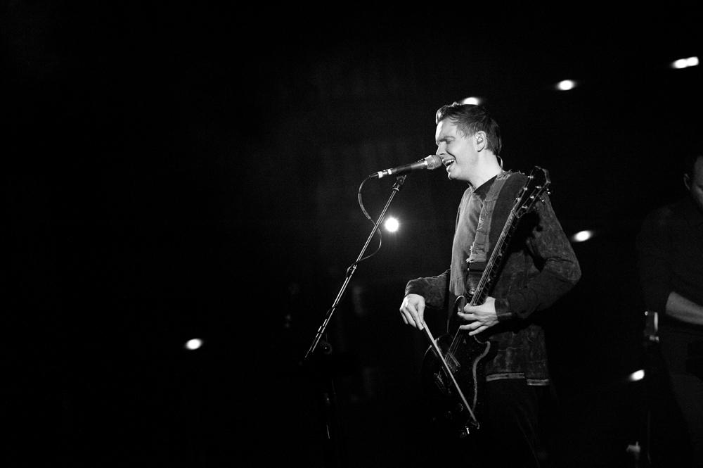 Sigur Ros at Keller Auditorium on Sept. 21. IMAGE: Colin McLaughlin.