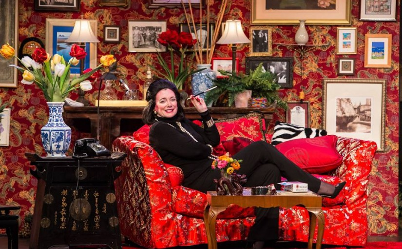 """Triangle Productions' """"Full Gallop"""" Tells the Story of the Late, Great Fashion Editor Diana Vreeland"""