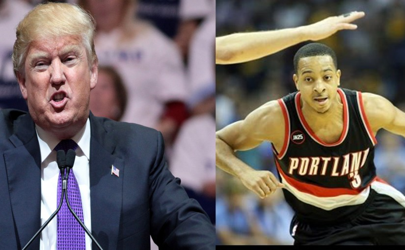 Blazers Guard CJ McCollum Says His Locker Room Isn't Like Donald Trump's Locker Room