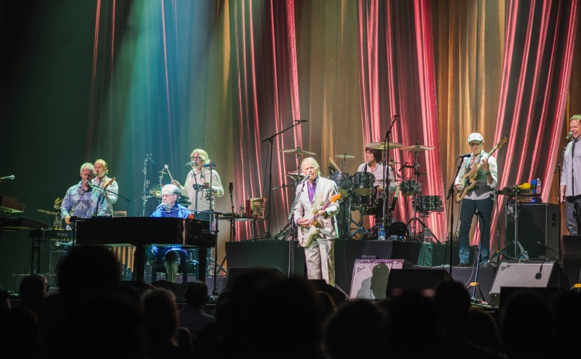 At the Schnitz, Brian Wilson Shows He Wasn't Quite Made for These Times, Either