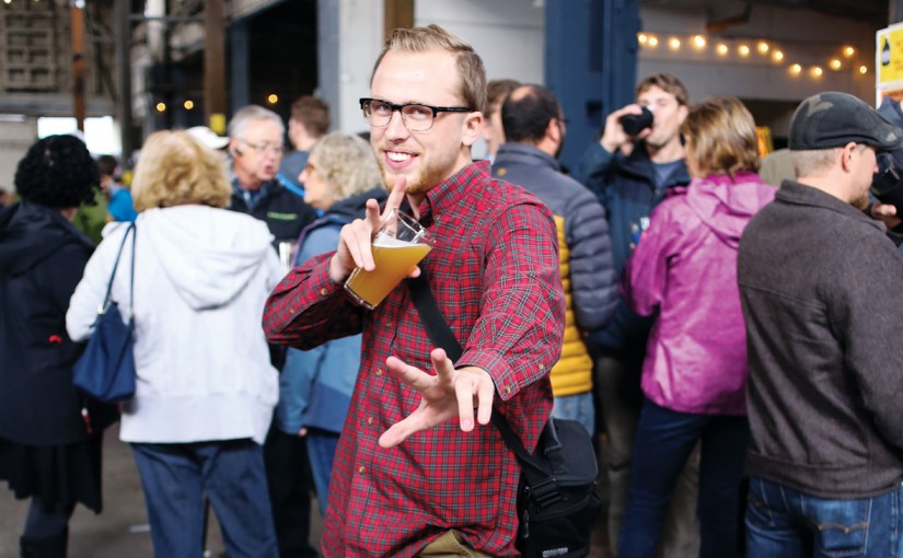 We Asked People at the Beer Pro/Am About Where They Were From and What Their First Craft Beer Was