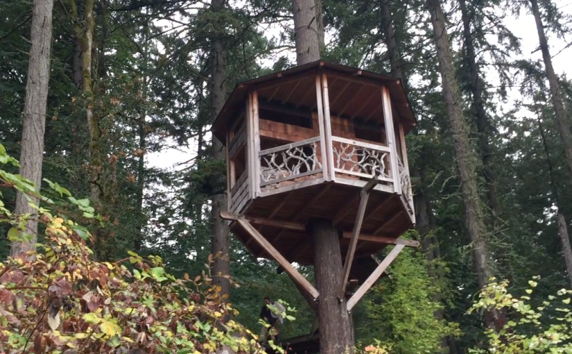 We Rented a Treehouse in Portland on a New Airbnb-Style Site for Camping