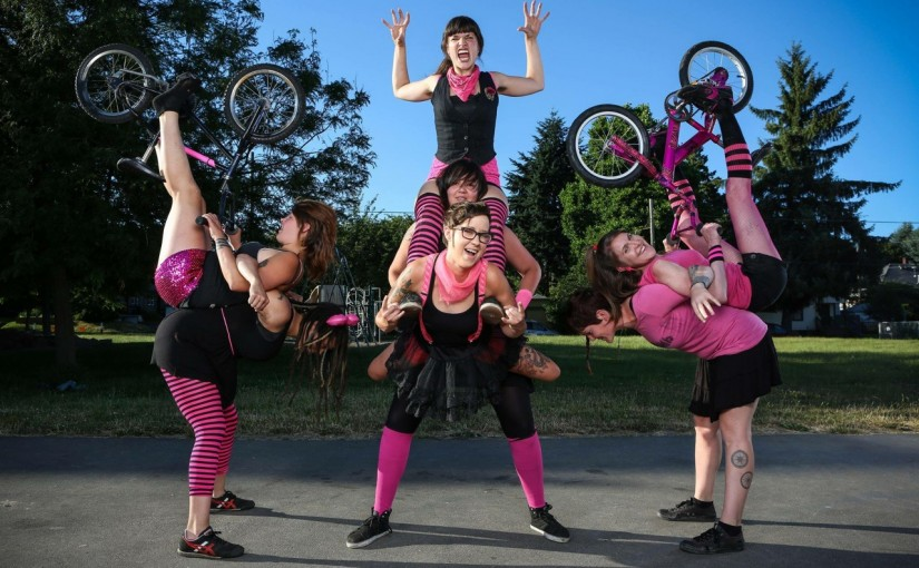 You Can Now Be A Part of Portland's Glam-Punk, All-Female Minibike Troupe