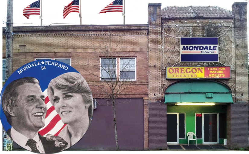 In 1984, Presidential Candidate Walter Mondale Almost Came to Portland Pornhouse The Oregon Theater