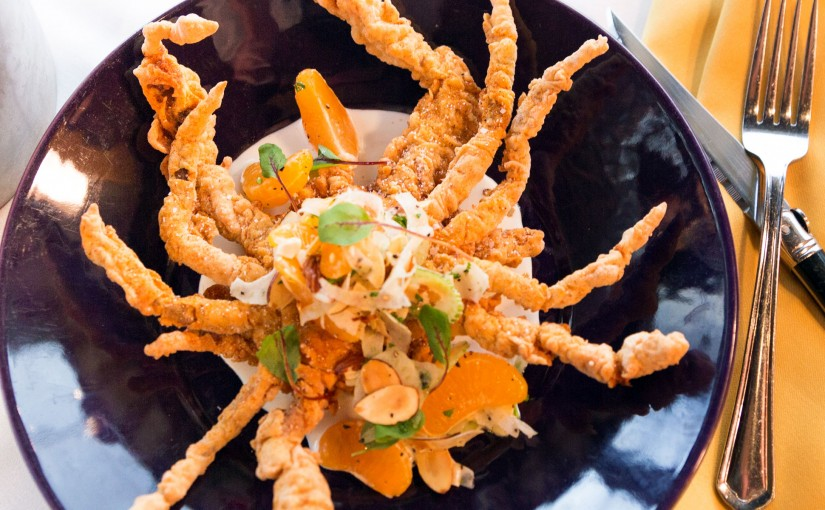 At Cajun-Creole Acadia, the Louisiana Soft-Shell Crab Is Like a Plated Van Gogh